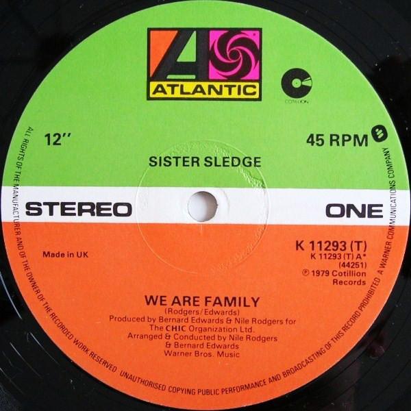Sister Sledge We Are Family Vinyl
