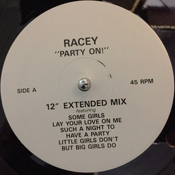 Racey Party On! Vinyl