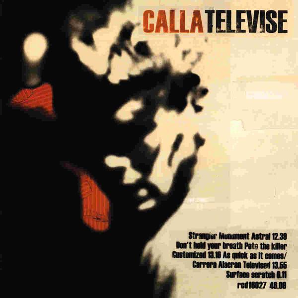 Calla Televise Vinyl