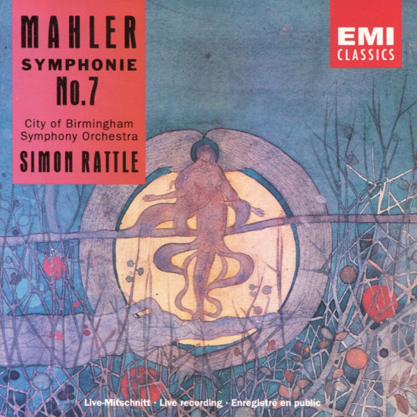 Mahler - City Of Birmingham Symphony Orchestra, Simon Rattle Symphonie No. 7 Vinyl