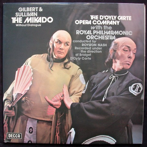 Gilbert And Sullivan - Royston Nash The Mikado Vinyl