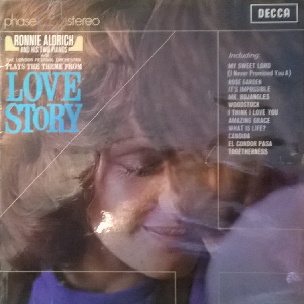 Aldrich, Ronnie And His Two Pianos Love Story Vinyl