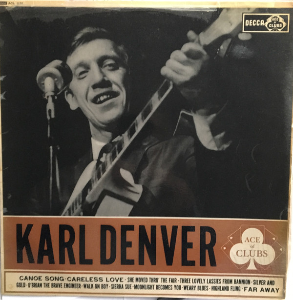 Denver, Karl The Karl Denver Trio Vinyl