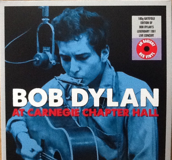 Dylan, Bob At Carnegie Chapter Hall