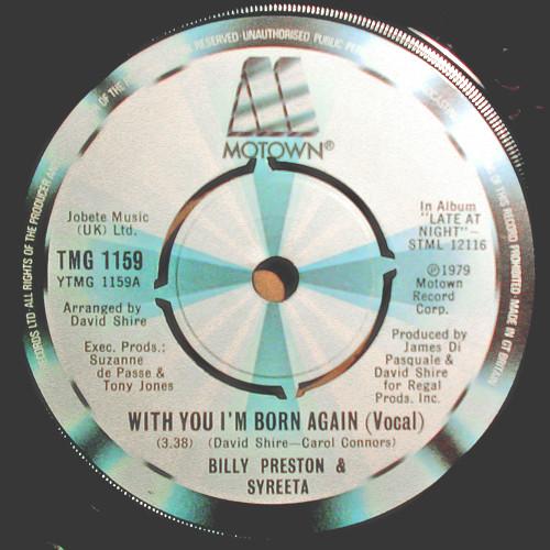 Preston, Billy & Syreeta With You I'm Born Again