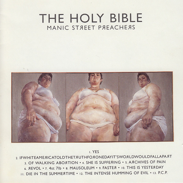 Manic Street Preachers The Holy Bible Vinyl