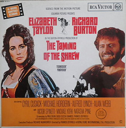 Nino Rota The Taming Of The Shrew: Scenes From The Motion Picture Vinyl