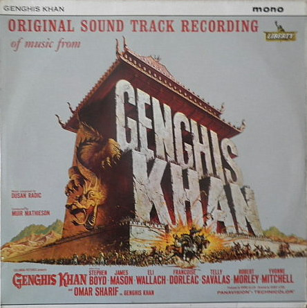 Original Soundtrack Recording Genghis Khan