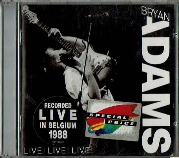 Adams, Bryan Live! Live! Live!