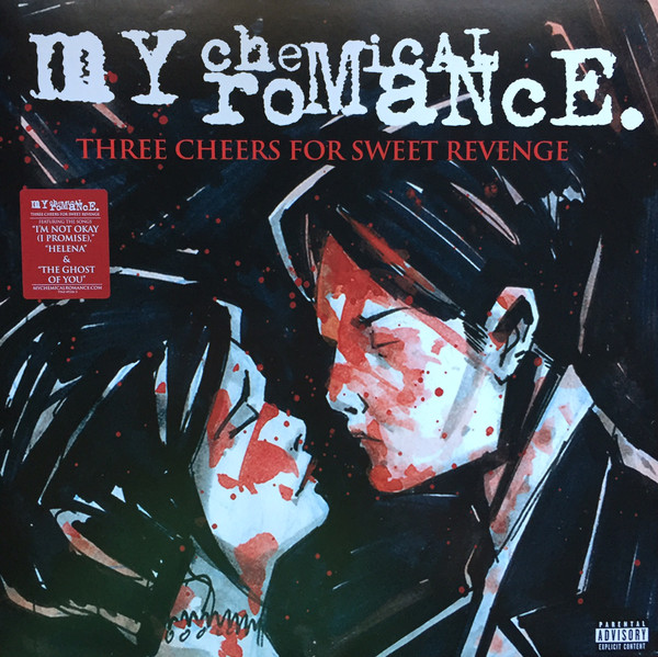 My Chemical Romance Three Cheers For Sweet Revenge Vinyl