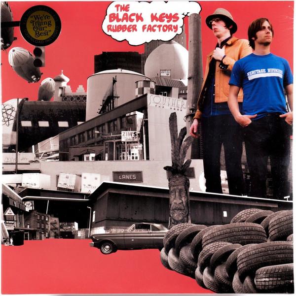The Black Keys Rubber Factory Vinyl