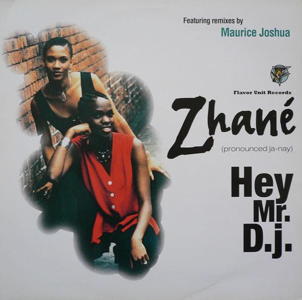 Zhané Hey Mr. D.J. Vinyl