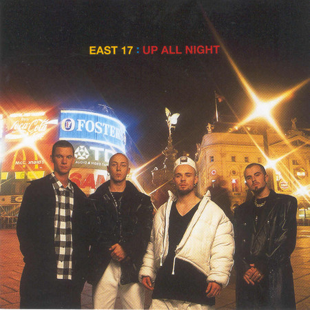 East 17 Up All Night Vinyl