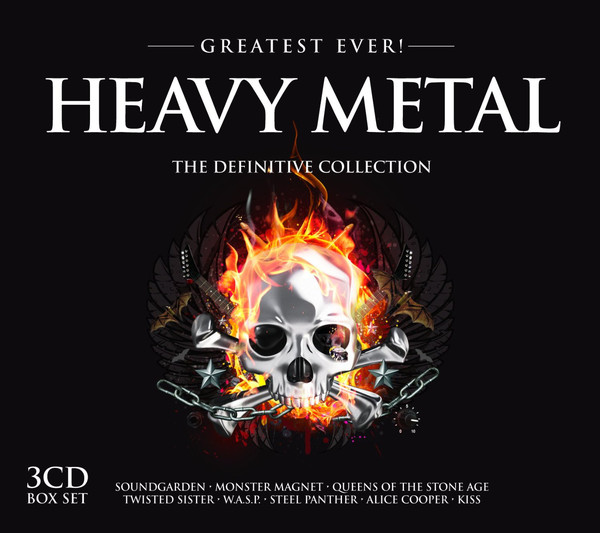 Various Greatest Ever! Heavy Metal (The Definitive Collection)