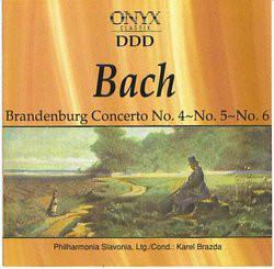 Bach - Karel Brazda Brandenburg Concerto Nos. 1, 2 & 3 Vinyl