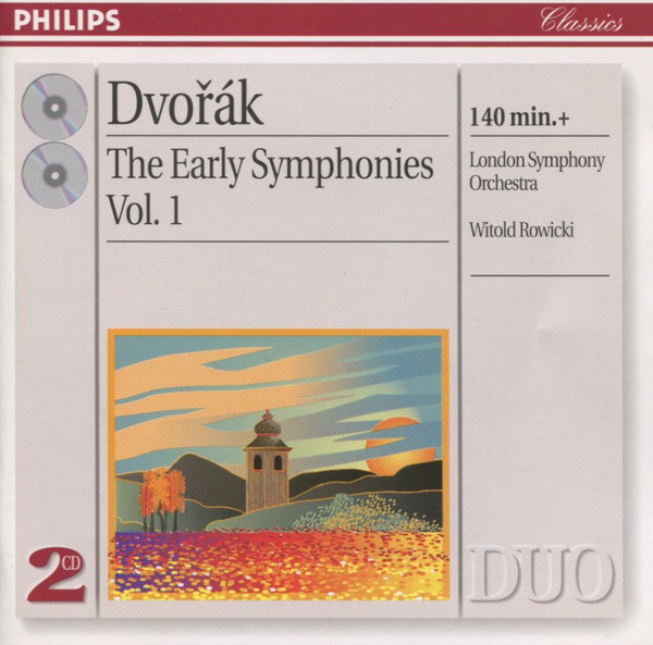 Dvorak - London Symphony Orchestra, Witold Rowicki  The Early Symphonies Vol. 1 Vinyl