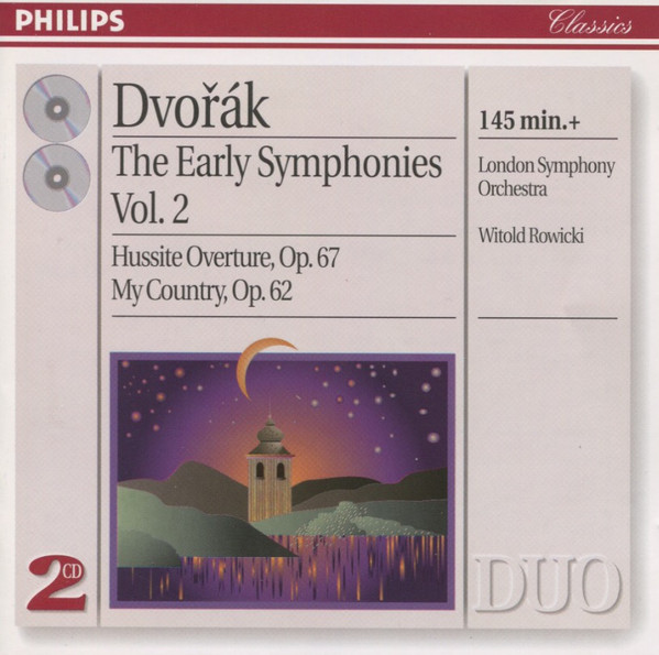 Dvorak - London Symphony Orchestra, Witold Rowicki The Early Symphonies Vol. 2 Vinyl
