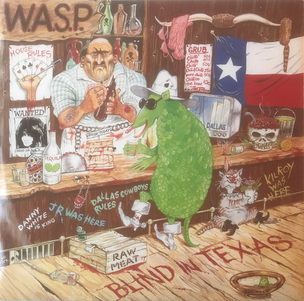 W.A.S.P. Blind In Texas Vinyl