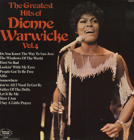 Warwicke, Dionne The Greatest Hits Of Dionne Warwicke Vol. 4 Vinyl