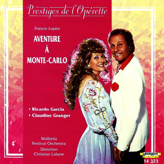 Lopez, Ricardo Garcia, Claudine Granger, Wallonia Festival Orchestra, Christian Lalune Aventure À Monte-Carlo Vinyl