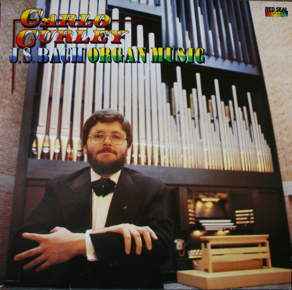 Bach - Carlo Curly J.S. Bach Organ Music