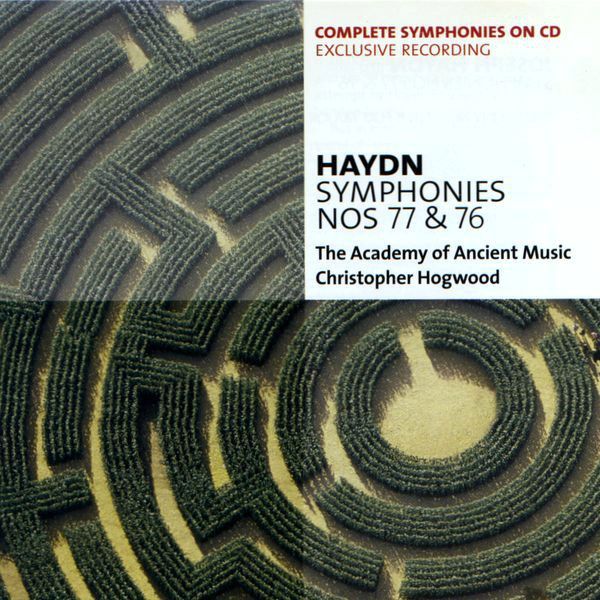 Haydn, Christopher Hogwood, The Academy Of Ancient Music Symphonies Nos 77 & 76
