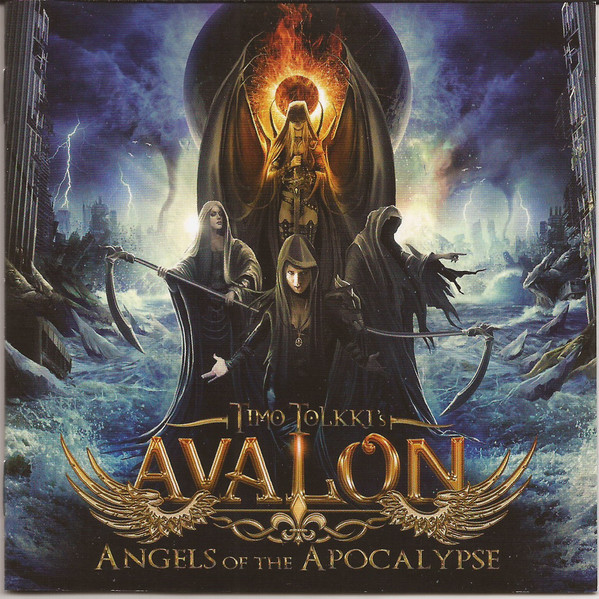 Time Tolkki's Avalon Angels Of The Apocalypse