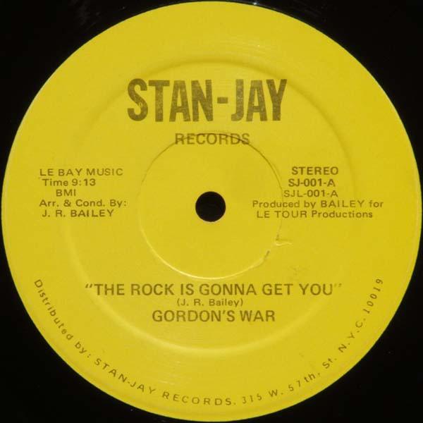 Gordon's War The Rock Is Gonna Get You Vinyl