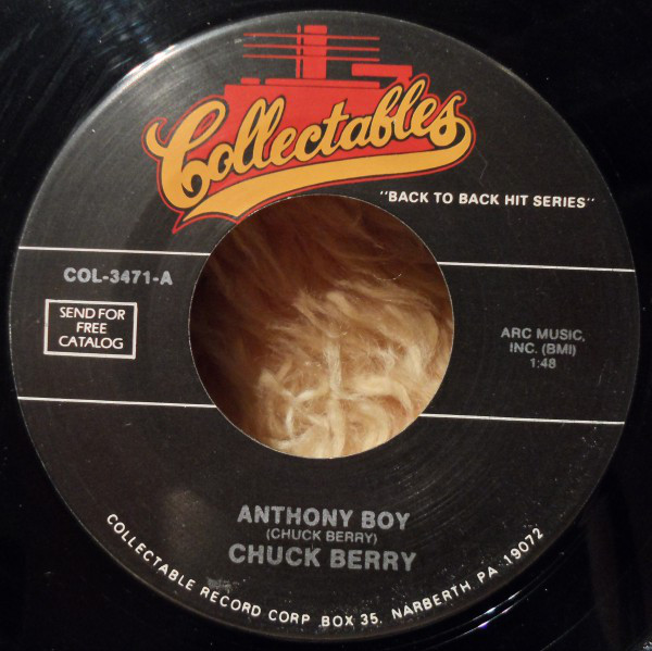 Berry, Chuck Anthony Boy / Havana Moon Vinyl