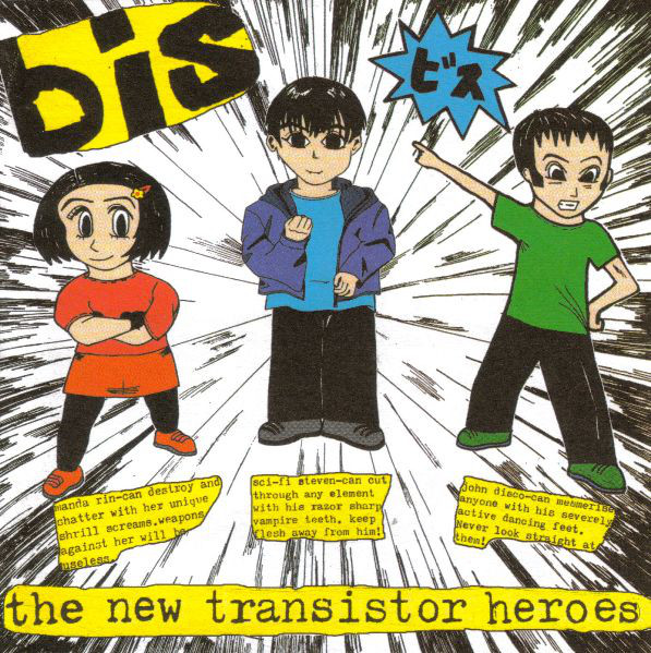 Bis The New Transistor Heroes CD