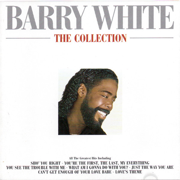 White, Barry The Collection Vinyl