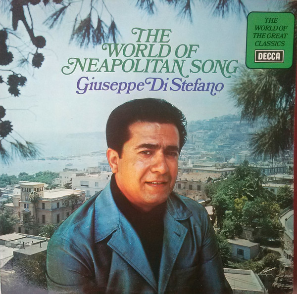 Di Stefano, Giuseppe The World Of Neapolitan Songs Vinyl