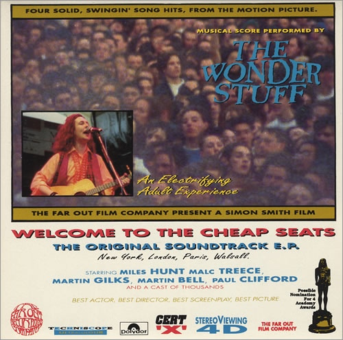 The Wonder Stuff  Welcome To The Cheap Seats