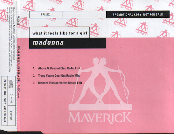 Madonna What It Feels Like For A Girl