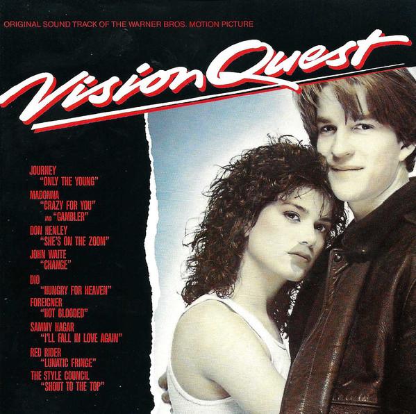 Various Vision Quest (Original Sound Track Of The Warner Bros. Motion Picture) CD
