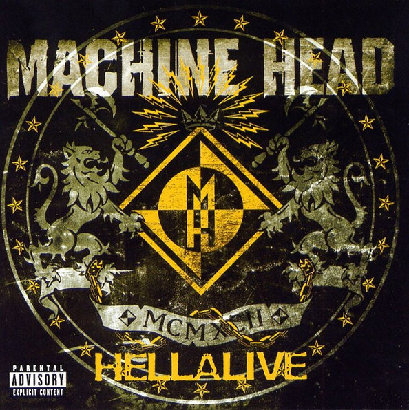 Machine Head Hellalive CD
