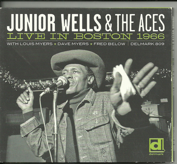 Wells, Junior & The Aces Live In Boston 1966