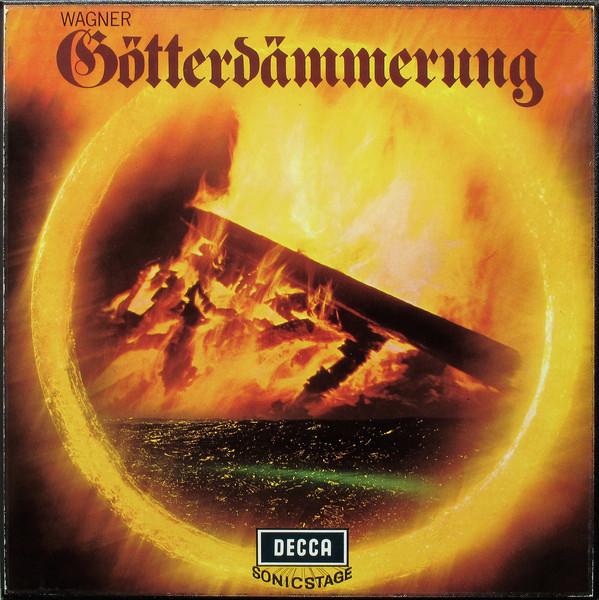 Wagner - Nilsson, Windgassen, Frick, Fischer-Dieskau, Ludwig, Neidlinger, Watson, Georg Solti Gotterdammerung Vinyl