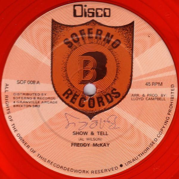 Freddy McKay* / Sly & The Revolutionaries Show & Tell / Nasha Rock 81 Style Vinyl