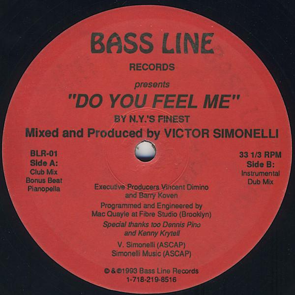 N.Y.'s Finest Do You Feel Me Vinyl