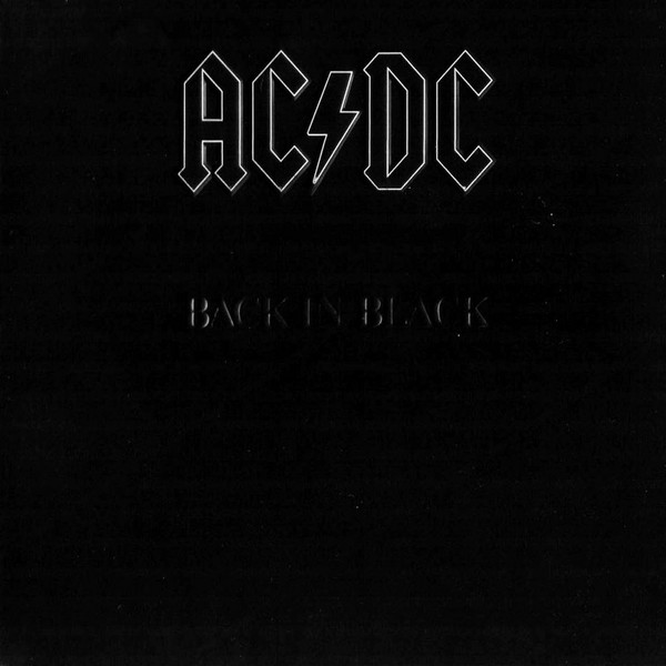 AC/DC Back In Black Vinyl