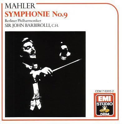 Mahler : Berliner Philharmoniker, John Barbirolli, C.H. Symphonie No.9