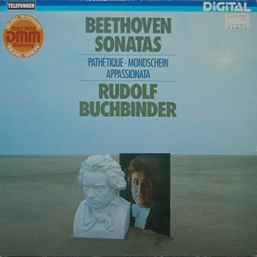 Beethoven - Rudolf Buchbinder Beethoven Sonatas: Pathetique, Mondschein, Appassionata Vinyl