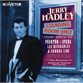 Jerry Hadley, Paul Gemignani, American Theatre Orchestra Standing Room Only CD