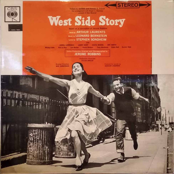 Leonard Bernstein ‧ Jerome Robbins ‧ Carol Lawrence ‧ Larry Kert ‧ Chita Rivera   West Side Story - Original Broadway Cast Vinyl