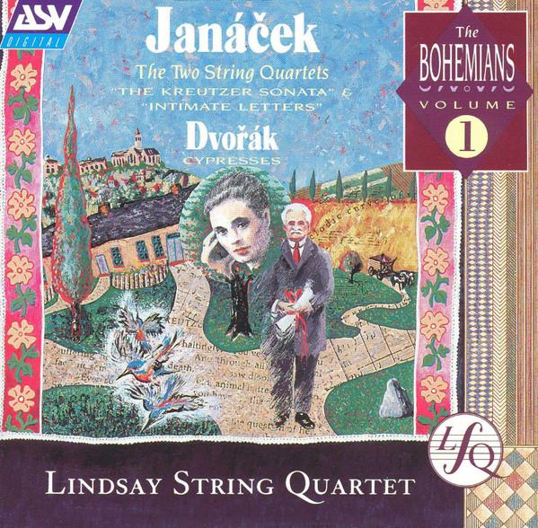 Janacek - Dvorak, Lindsay String Quartet Janacek: The Two String Quartets, Dvořák: Cypresses CD