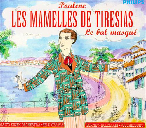 Poulenc - Saito Kinen Orchestra, Seiji Ozawa, Bonney, Holzmair, Fouchécourt Les Mamelles de Tirésias / Le bal masqué Vinyl