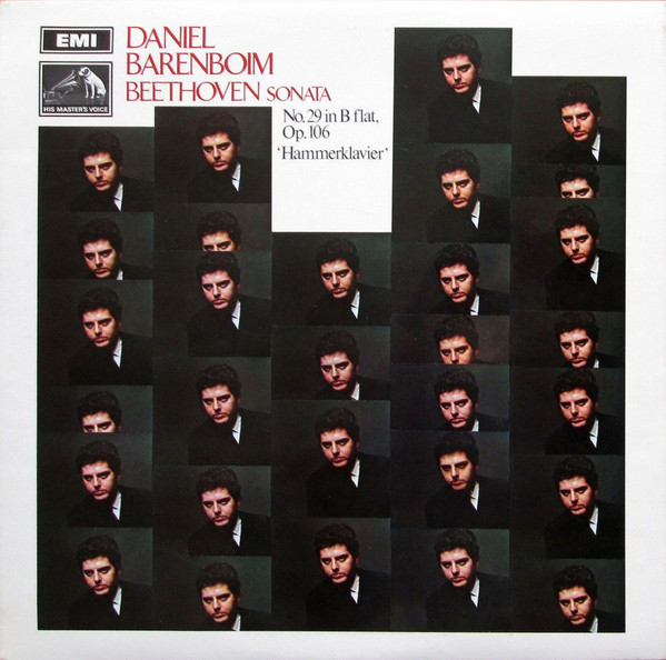 Beethoven - Daniel Barenboim Sonata No. 29 In B Flat, Op. 106 'Hammerklavier' Vinyl