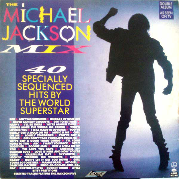 Michael Jackson / The Jackson 5 The Michael Jackson Mix - 40 Specially Sequenced Hits By The World Superstar Vinyl