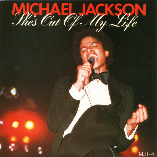 Jackson, Michael She's Out Of My Life Vinyl